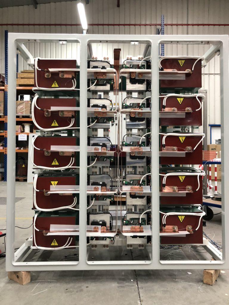 Générateur 10kV – Châssis pulseur
