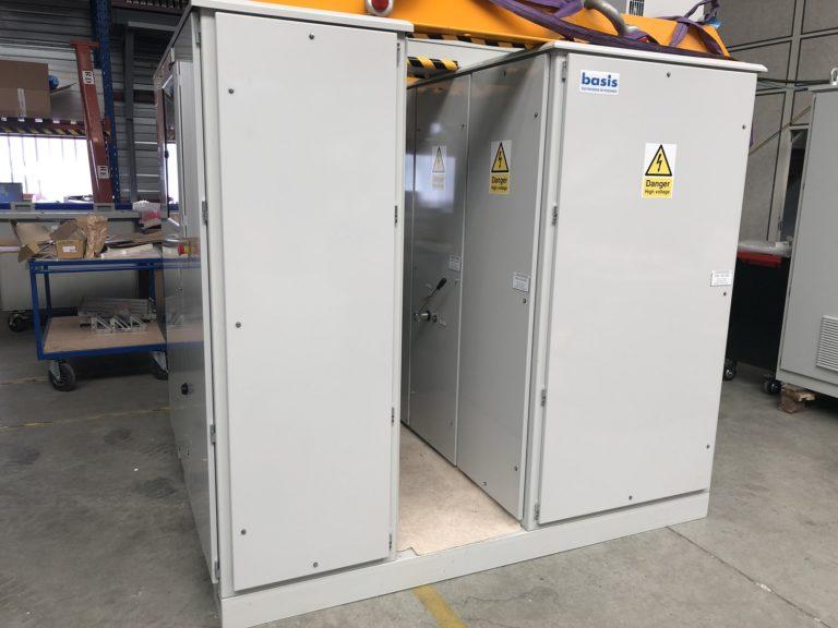 Générateur 10kV – Couloir de maintenance