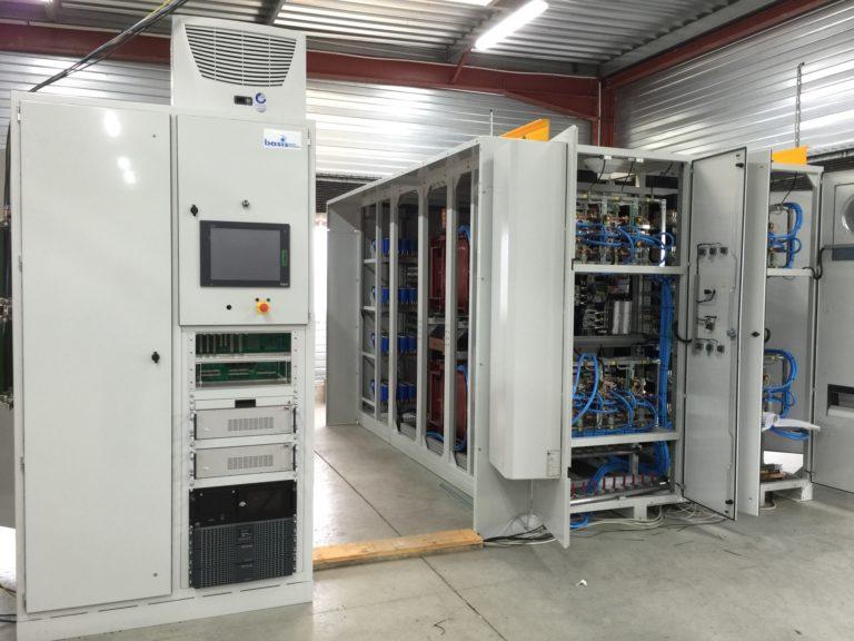 Redresseur 33kA– Redresseurs thyristors et contrôle-commande