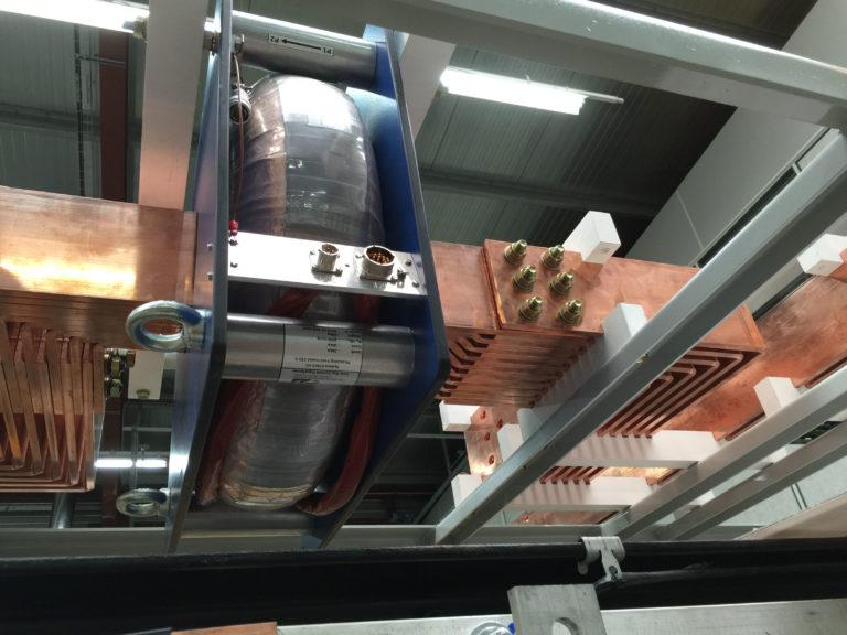 Redresseur 33kA – Capteur haute précision et JdB cuivre