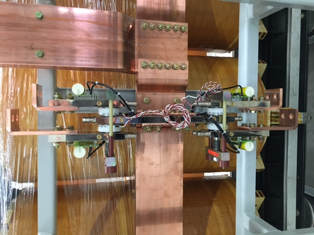 Redresseur 52kA – Thyristors refroidis à l'eau